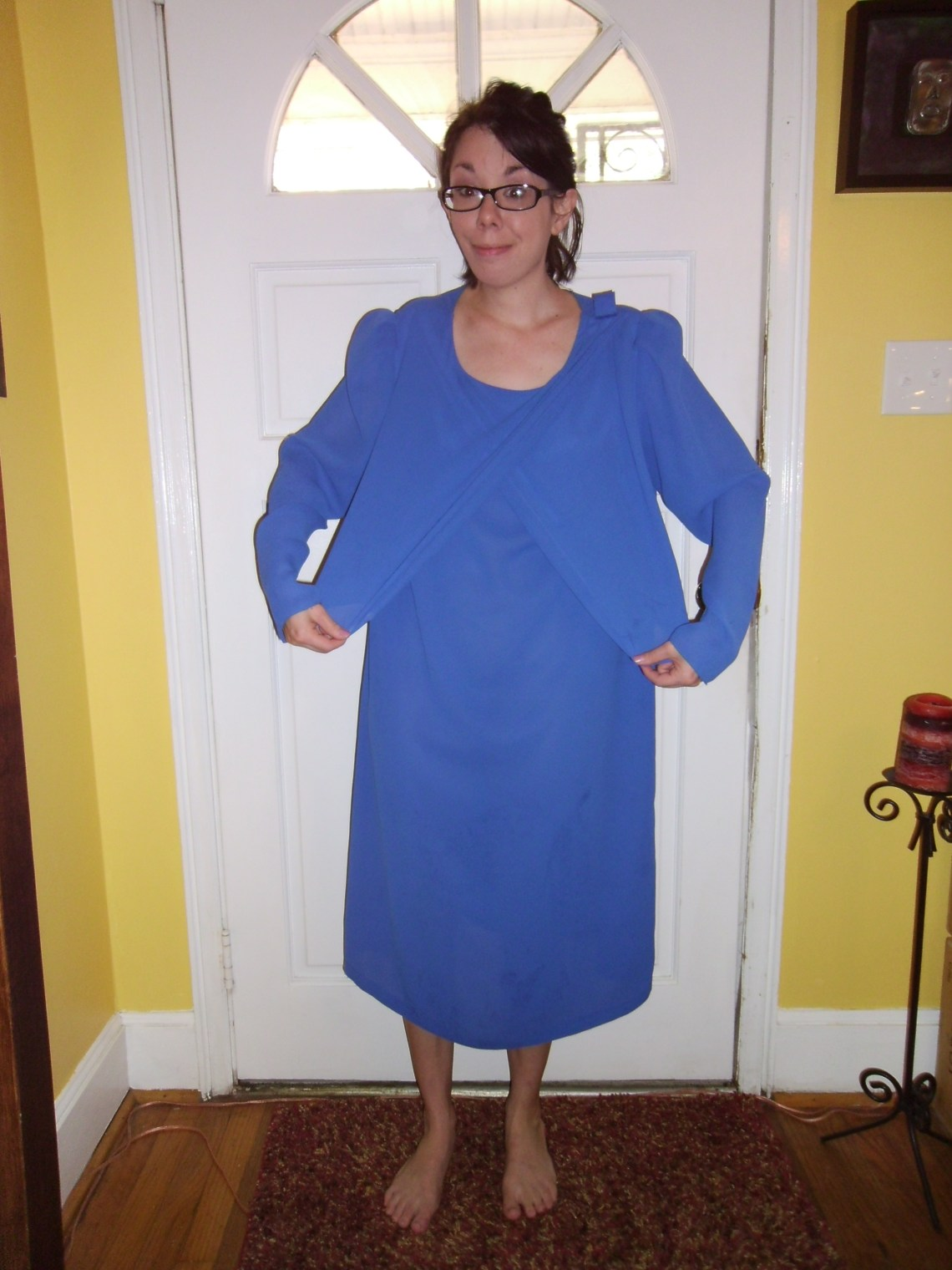 Day 170:  You Look Good in Blue Dress 1