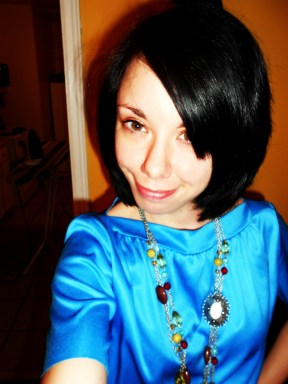 Day 215:  Blue Skies Dress 7