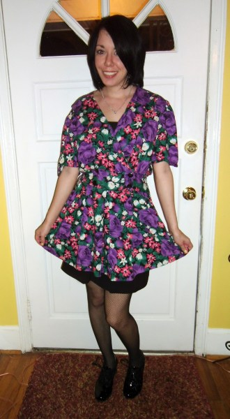 Day 194: Flowers for a Rainy Day Dress 7