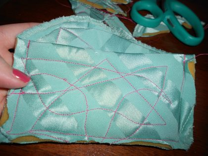 Day 206:  A Perfectly Padded Pouch 6