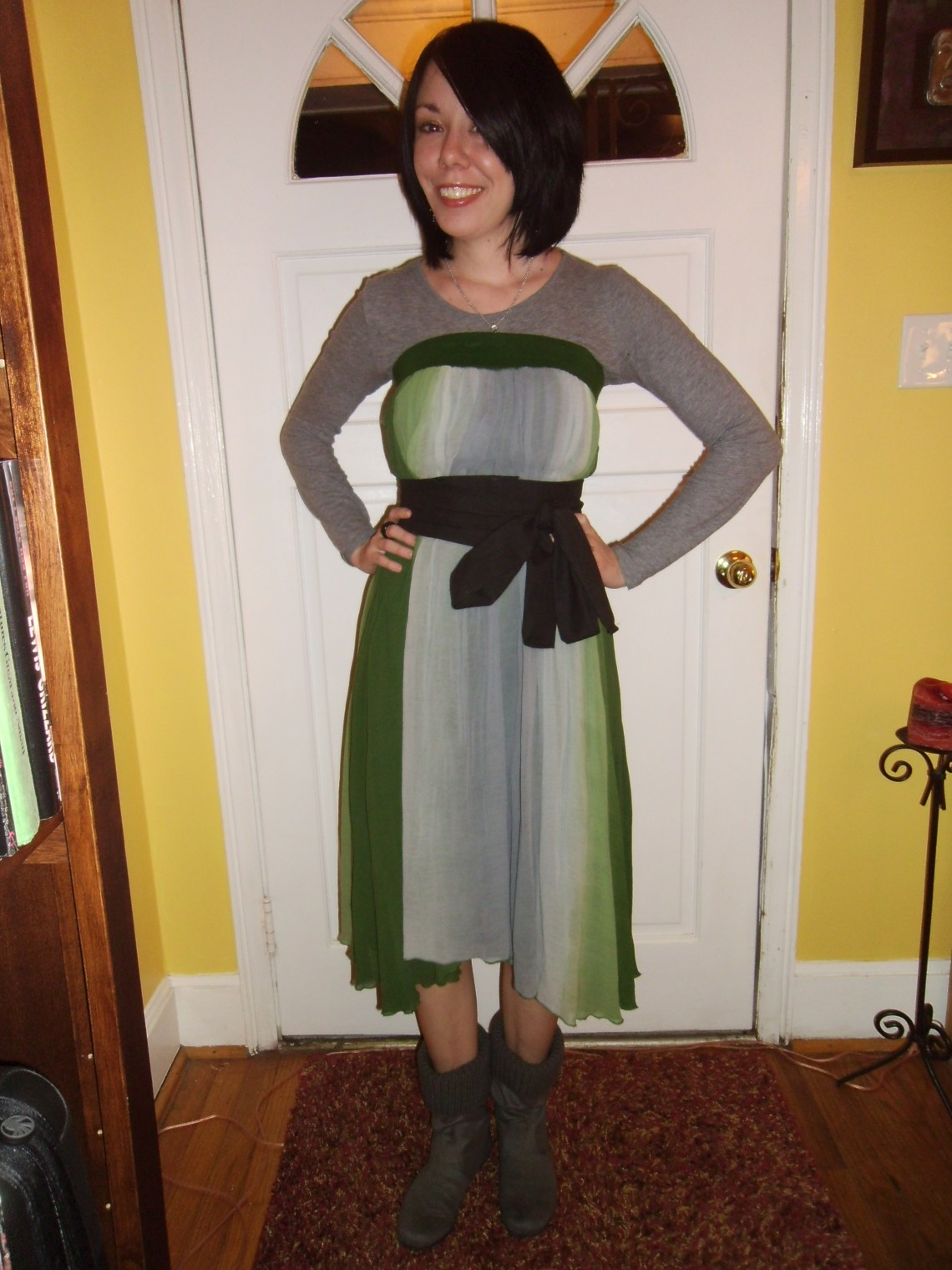 Day 197:  Complete Cop-Out Dress 1