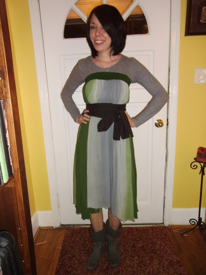 Day 197:  Complete Cop-Out Dress 3
