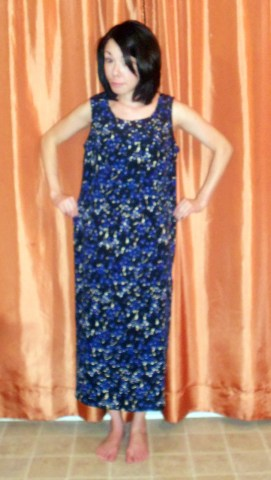 Day 267:  Jackson Pollock Dress 2