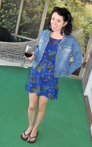 Day 288:  Off The Grid Dress 8