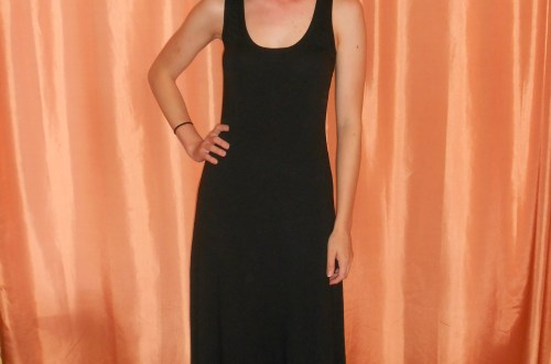 Day 284:  Back in Black Dress 6