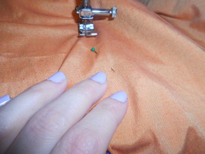 Day 301: Tangerine Dream Dress 5