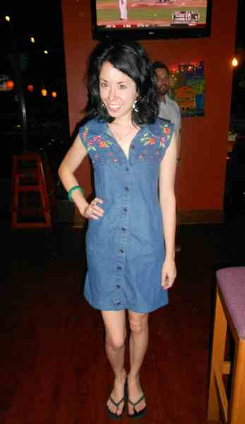 Day 345:  Denim Aversion Dress 12