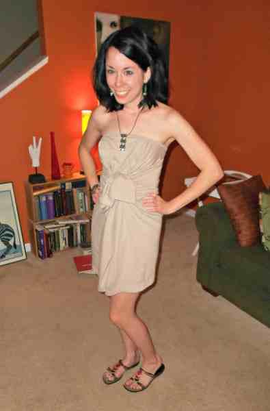 Day 349: From Sleepshirt to Sassy Dress 4
