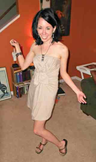 Day 349: From Sleepshirt to Sassy Dress 5