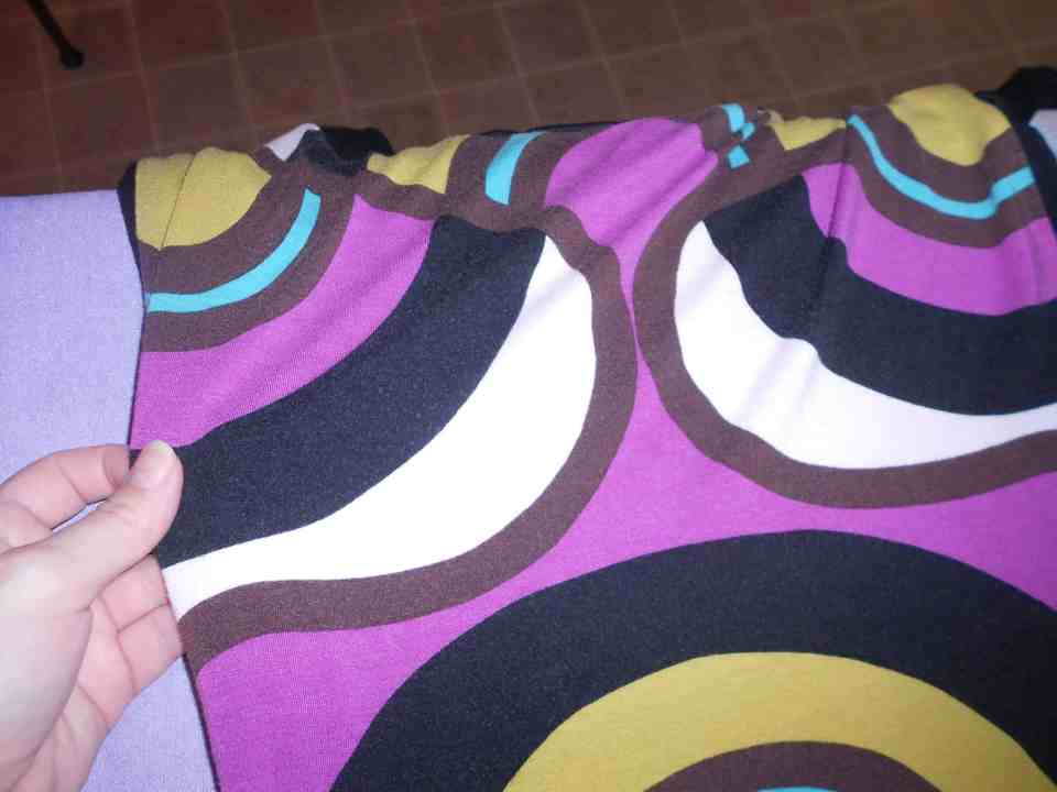 Day 357:  Grown Up Enough: A Dress to Asymmetrical Top Refashion 3