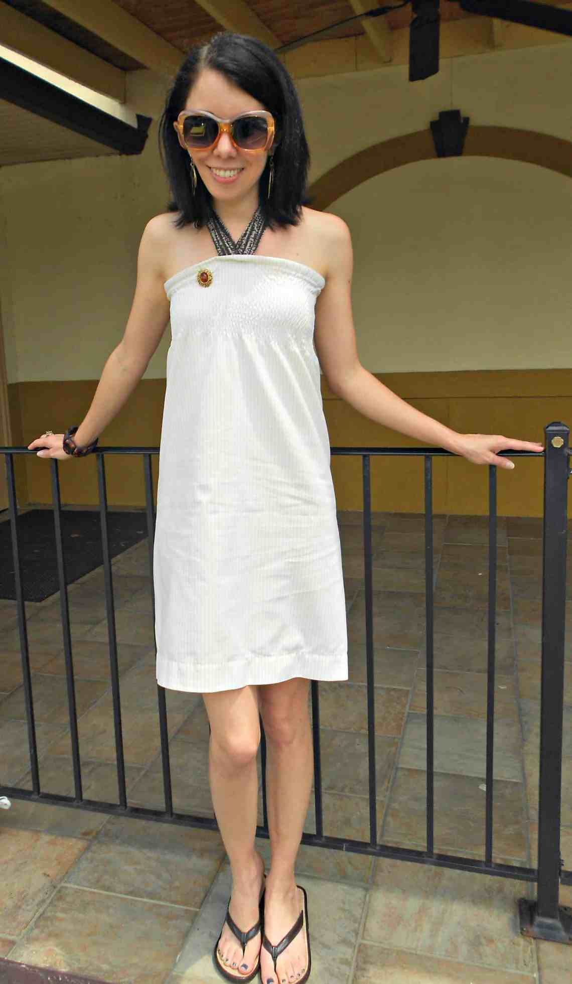 A Shirr Bet Pillowcase Dress / Save the Arts in SC! 1