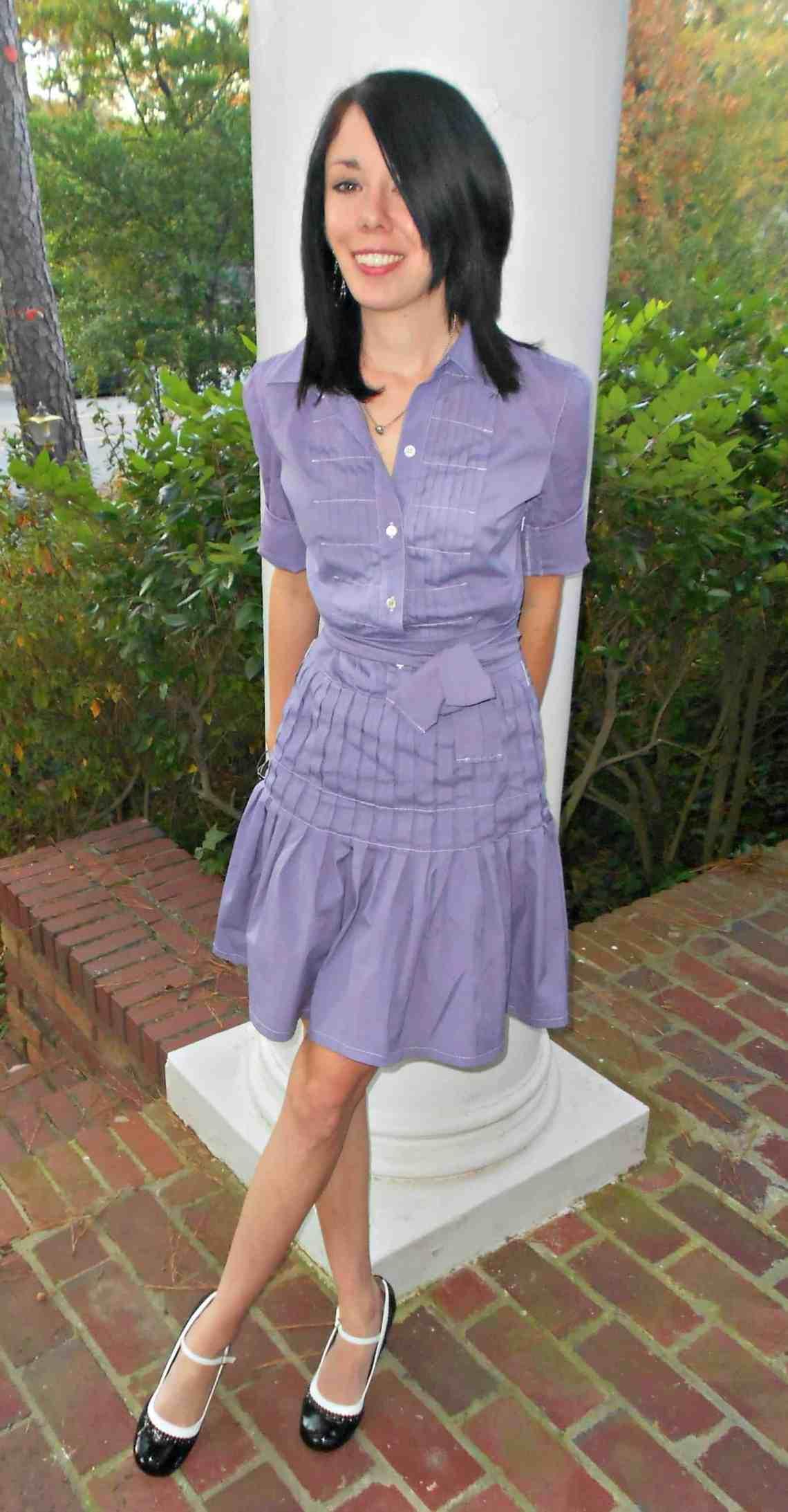 Violet Femme Dress 1