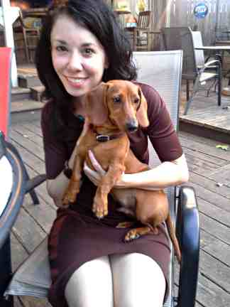 We're both sooo happy Jake's is dog-friendly...and not just for Yappy Hour!