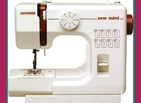 The Janome Sew Mini:  A ReFashionista Review 16