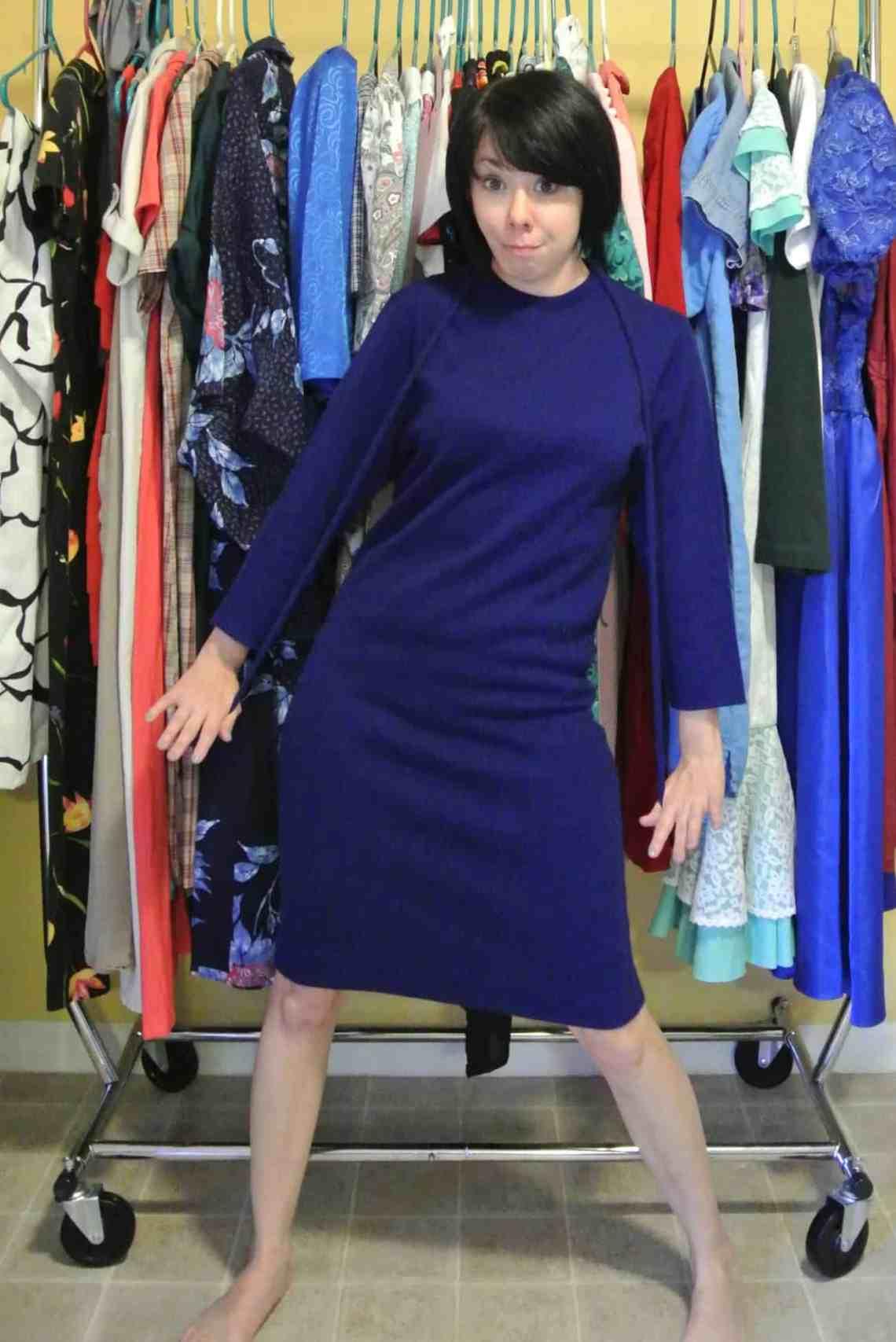 1 Frumpy Dress = 1 Funky Sweater + 1 Fab Miniskirt! 1
