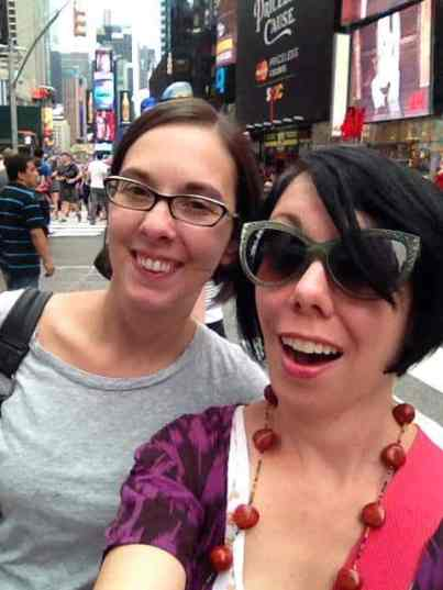Times Square Selfie!