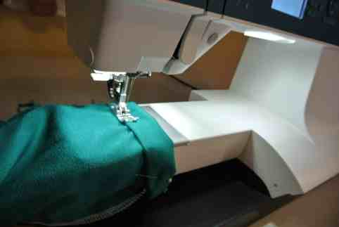 A brand new sleeve hem!