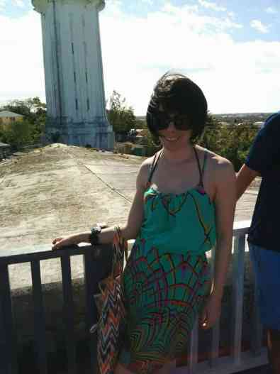 At the water tower in Nassau