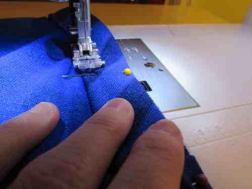 Then stitch!