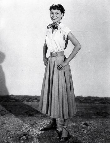 Looking swell, Ms. Hepburn!