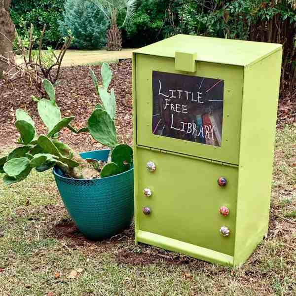 ReFashionista LIttle Free Library After