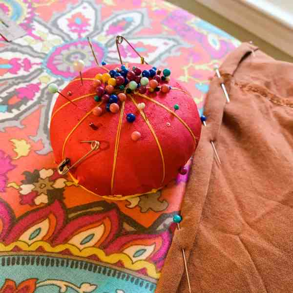 refashionista pin cushion