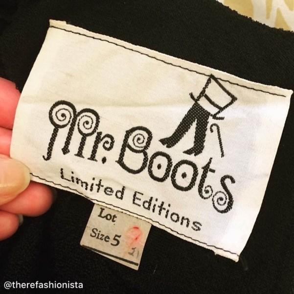 Mr. Boots Label