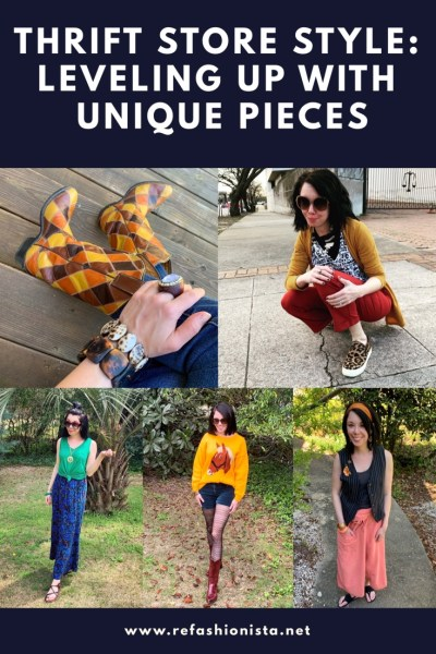 Thrift Store Style: Wear Unique Pieces For Elevated Style