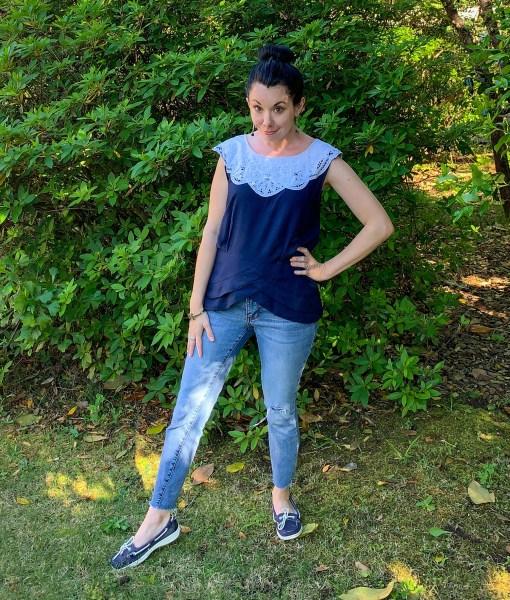 '90s Kathie Lee Dress Refashion After Image 2