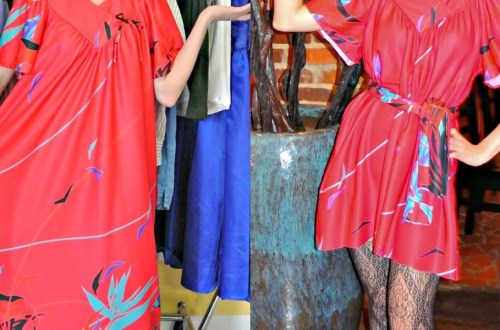 December in the South: A Muumuu to Dress Refashion 14