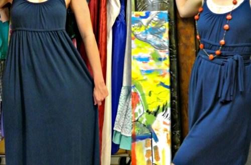 A No-Sew Jersey Maxi Dress Refashion 13