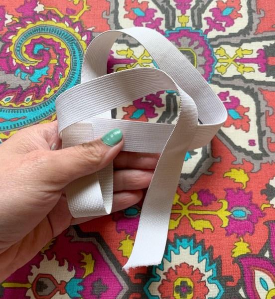 cut elastic for dress waistband