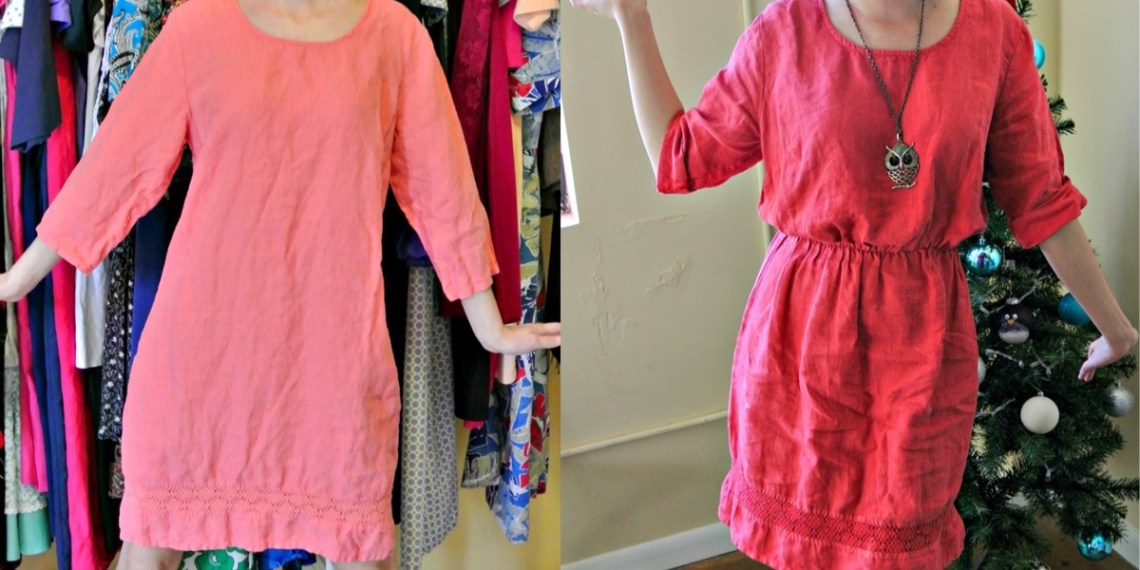 How to Add an Elastic Waist to a Dress: A Drastic Elastic Refashion 15