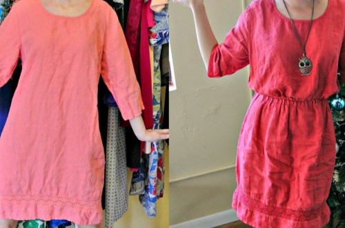 How to Add an Elastic Waist to a Dress: A Drastic Elastic Refashion 12