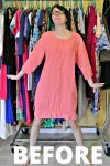 How to Add an Elastic Waist to a Dress: A Drastic Elastic Refashion 2