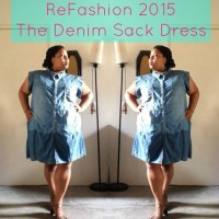 Vanessa's Divine Denim Dress #DIY