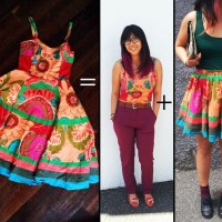 Yin's 2 for 1 Dress #Refashion