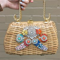 An #Upcycled Bling Bag