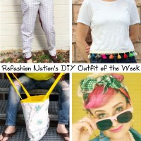 Refashion Nation's 3rd #DIY #OOTW