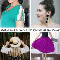 Refashion Nation's 7th #DIY Outfit of the Week