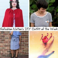 Refashion Nation's 11th #DIY Outfit of the Week