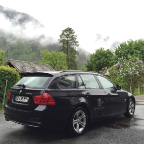 comfortable BMW vehicle for your private transfer in Chamonix