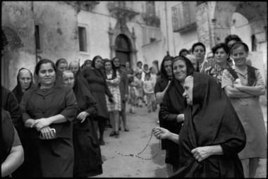 Italy. Basilicata. Grassano. 1973. Pilgrimage to St Innocent.