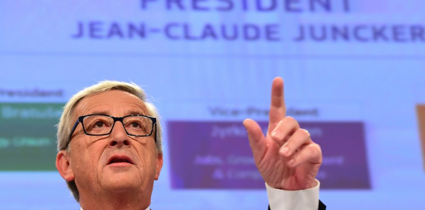 Jean-Claude Juncker mercredi 10 septembre. (AFP)