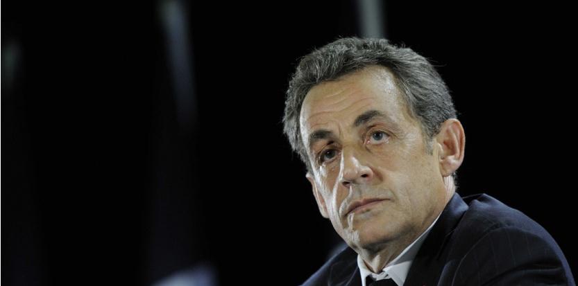 Nicolas Sarkozy lors de son meeting à Saint-Julien-les-Villas le 2 octobre 2014. (WITT/SIPA)