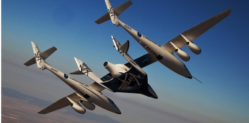 Space Ship Two de Virgin Galactic (Virgin Galactic)
