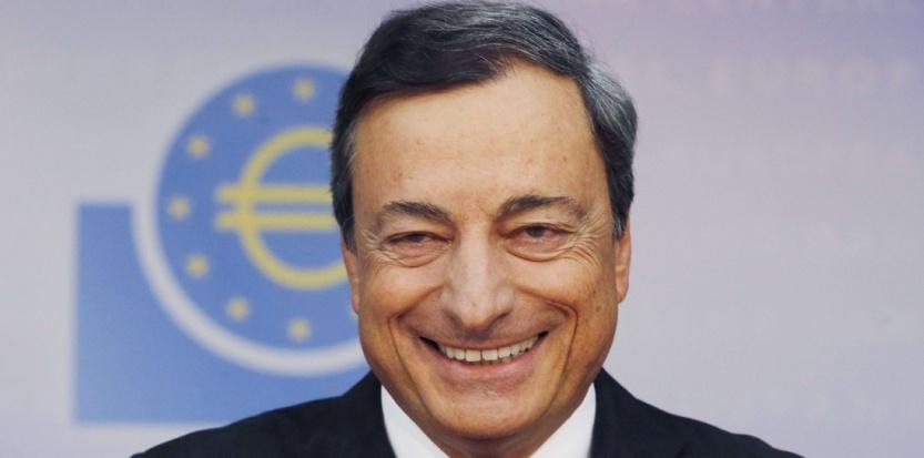 Pour justifier leur décision, la Skatbank, en Allemagne et la DZ Privatbank au Luxembourg expliquent à leurs clients que la BCE leur impose elle aussi des taux négatifs sur les liquidités qu'elles veulent mettre à l'abri au lieu de les injecter dans l'économie. (Sipa)