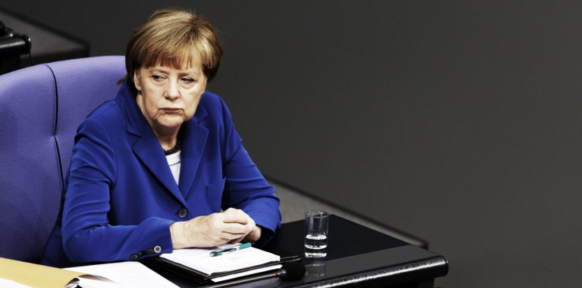 La Chancelière allemande Angela Merkel (Sipa)