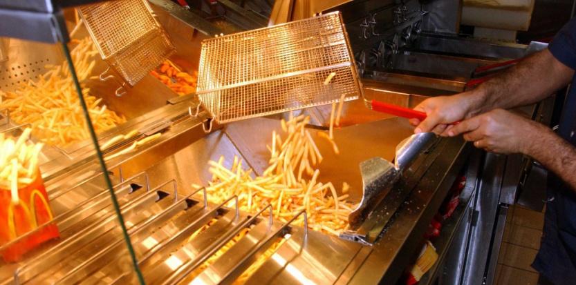 Pour ces frites, Mac Donald utilise pas moins de 19 ingrédients... dont des pommes de terre (ouf!) ©DURAND FLORENCE/SIPA