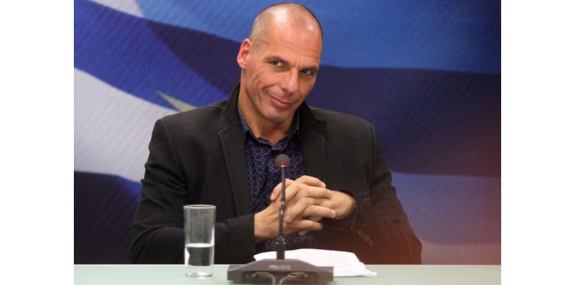 Yanis Varoufakis ministre des Finances Grèce AYHAN MEHMET / ANADOLU AGENCY